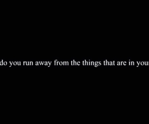 black, how, and run away image