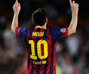 messi, lionel, and fcb image