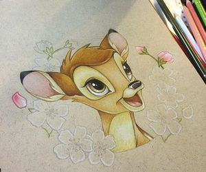 art, bambi, and disney image