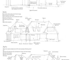 cottage, home, and drawing tutorial image