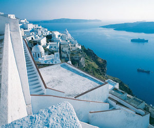 Greece, blue, and summer image