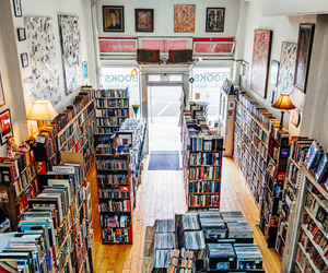 books, bookstore, and library image