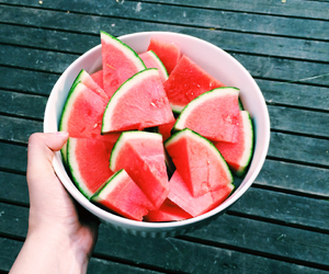 food, watermelon, and summer image