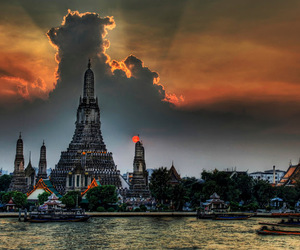 nature, Temple, and thailand image