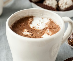 drink, chocolate, and coconut image