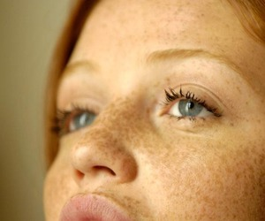 Cintia Dicker, freckles, and ginger image