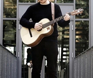 ed sheeran and guitar image