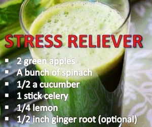healthy, stress, and food image
