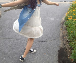 converse, dress, and funny image