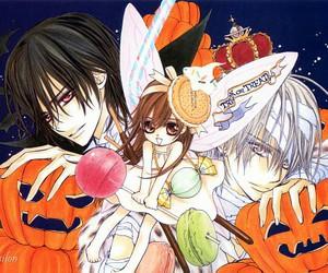 vampire knight, Halloween, and anime image