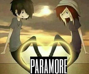 paramore, two, and love image
