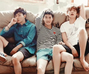 boys, Chen, and clothes image
