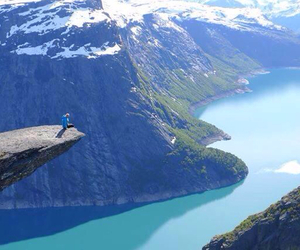 norway, nature, and blue image