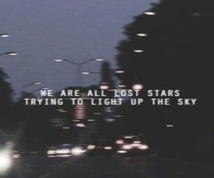 night, quote, and dark image