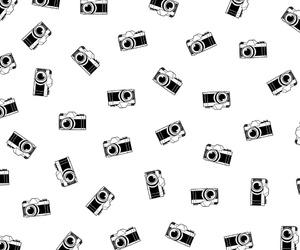 black, camera, and white image