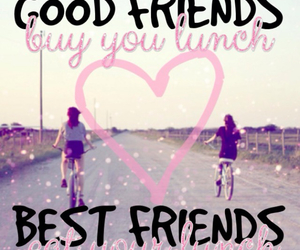 bff, quote, and love image