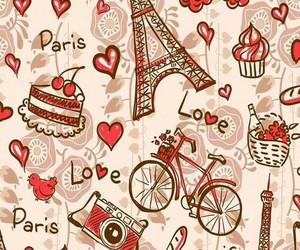 wallpaper, paris, and background image