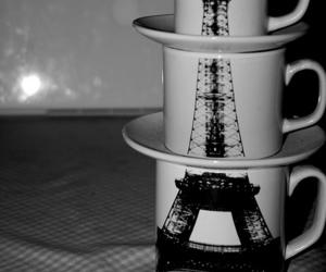 paris, cup, and mug image