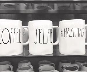 coffee, diy, and selfie image