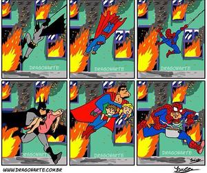 batman, superheroes, and funny image