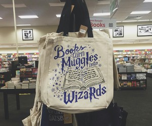 book, harry potter, and wizards image
