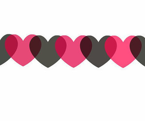 hearts, cute, and love image