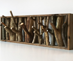 diy, wood, and coat rack image