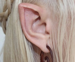 elf, ear, and blond image
