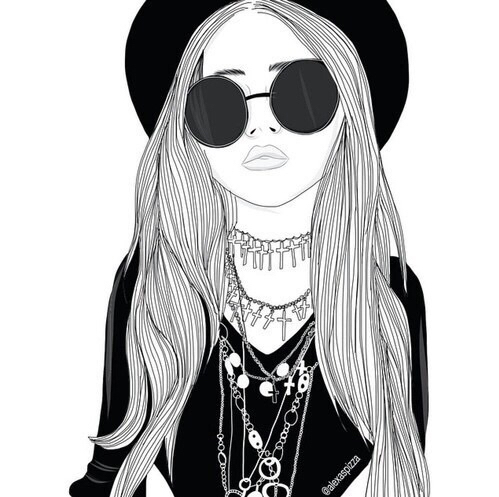 67 Images About Dessin On We Heart It See More About Girl Drawing