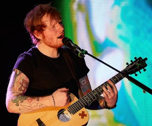 ed sheeran, boy, and guitar image