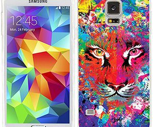 colors, cool, and lion image