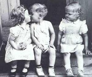 kiss, kids, and child image