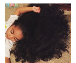 hair, baby, and baby girl image
