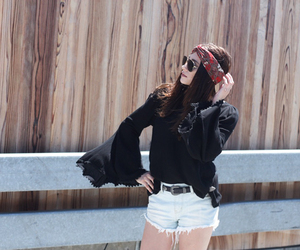 fashion blogger, bell sleeve, and ootd image