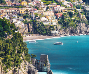 beach, italy, and sea image