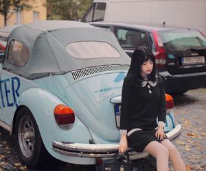 asian, asian girl, and autumn image