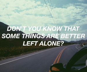 quote and road image