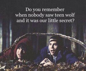 teen wolf, scott, and secret image