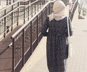 fashion, street, and hijab image