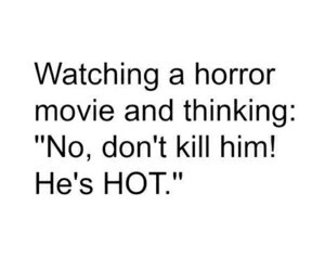 Hot, horror, and movie image