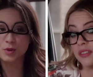 pretty little liars, spencer hastings, and hanna marin image