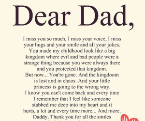 always, come back, and daddy image