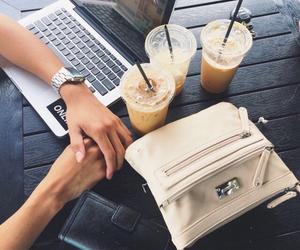 fashion, coffee, and drink image