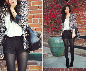 animal print, asian fashion, and fashion image