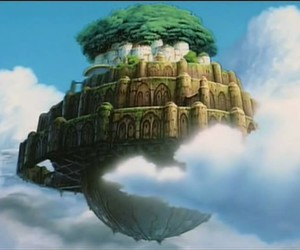 laputa, Castle in the Sky, and anime image