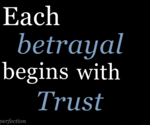 text, betrayal, and trust image