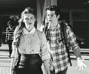 teen wolf, dylan o'brien, and stydia image