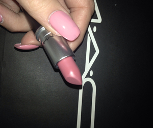 cosmetics, nails, and girl image