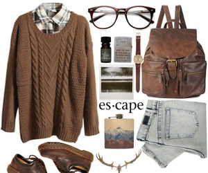 outfit, fashion, and look image