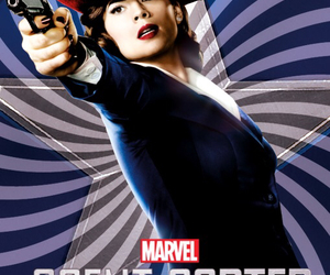 captain america, Marvel, and agent carter image